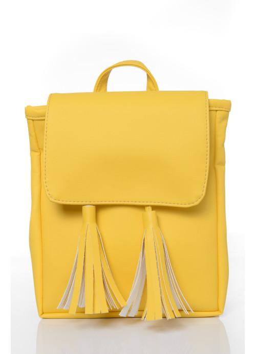 Жіночий рюкзак Sambag Loft SZN жовтий