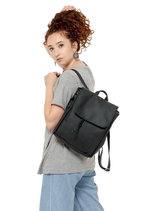 Жіночий рюкзак Sambag Loft MZN чорний