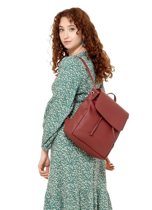 Жіночий рюкзак Sambag Loft MZN бордо