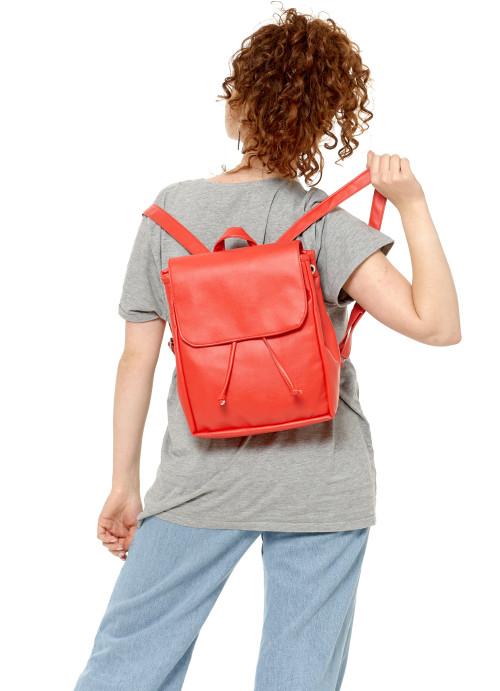 Жіночий рюкзак Sambag Loft MZN червоний