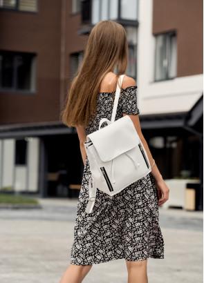 Жіночий рюкзак Sambag Loft MZS білий