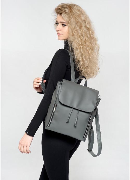 Жіночий рюкзак Sambag Loft MZS графітовий