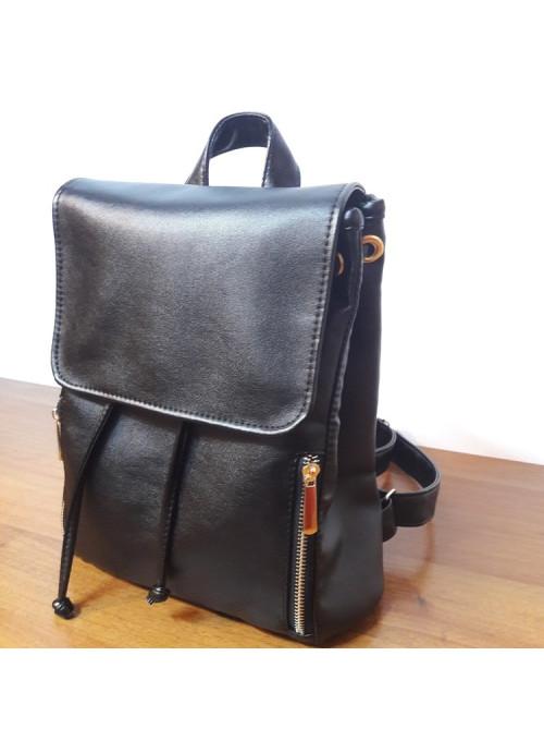 Жіночий рюкзак Sambag Loft MZG black