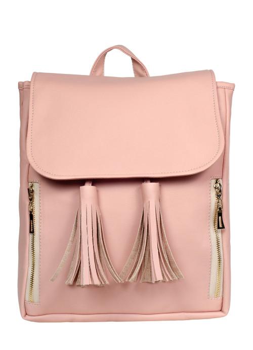 Жіночий рюкзак Sambag Loft MZOe пудра