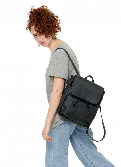 Жіночий рюкзак Sambag Loft MQN чорний