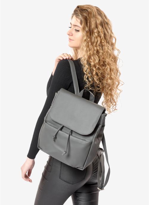 Жіночий рюкзак Sambag Loft MQN графітовий