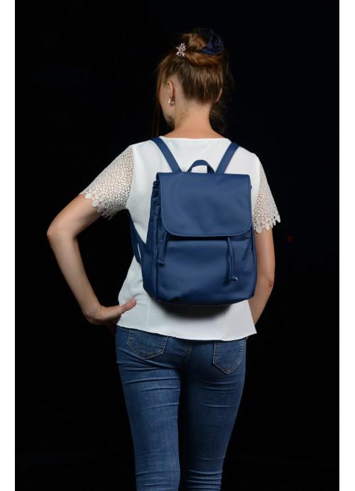 Жіночий рюкзак Sambag Loft MQN синій