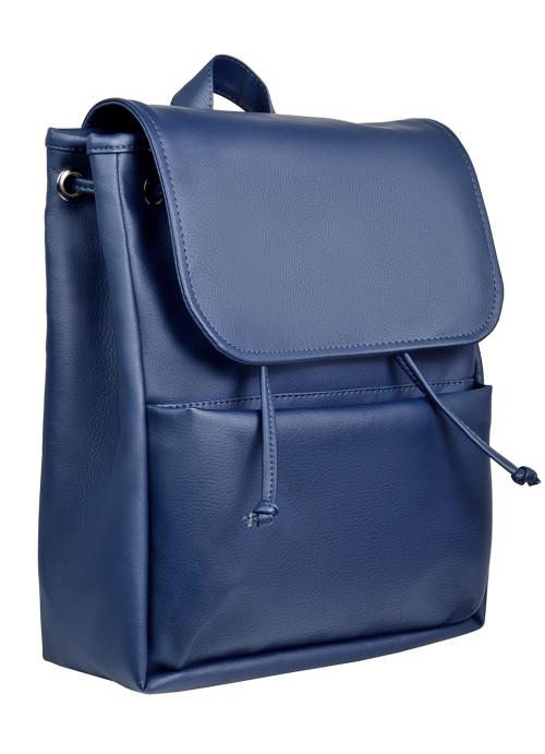Жіночий рюкзак Sambag Loft MQN темно-синій