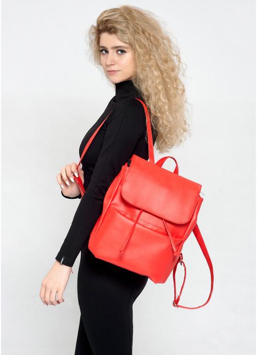Жіночий рюкзак Sambag Loft MQN червоний