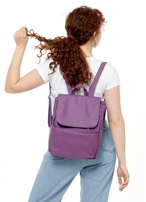 Жіночий рюкзак Sambag Loft MQN фіолетовий