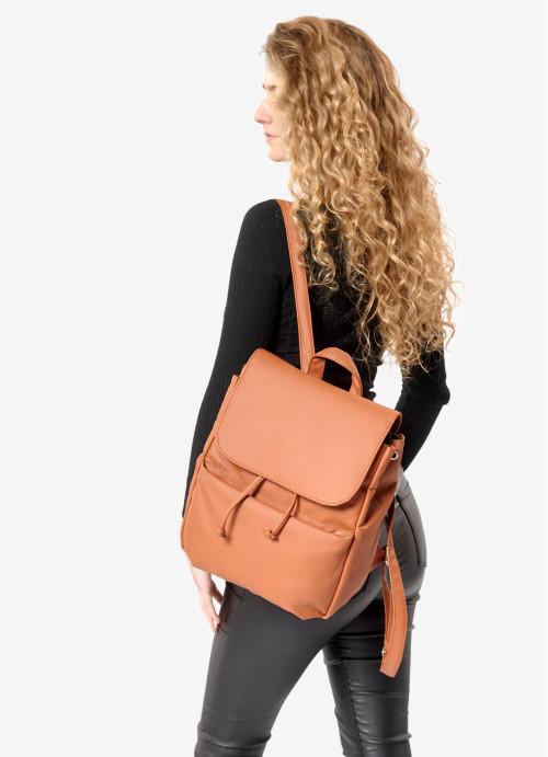 Жіночий рюкзак Sambag Loft MQN коричневий