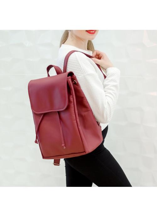 Жіночий рюкзак Sambag Loft BZN бордо