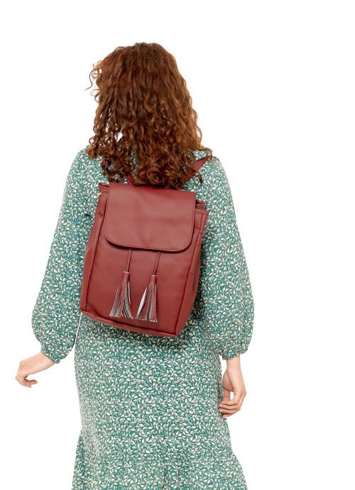 Жіночий рюкзак Sambag Loft BZNa бордо