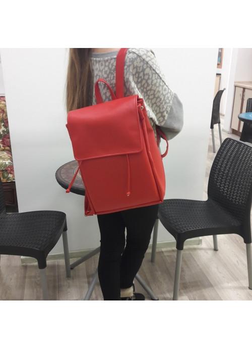 Жіночий рюкзак Sambag Loft BZN червоний