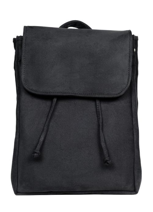 Рюкзак Sambag Loft BZN чорний замш