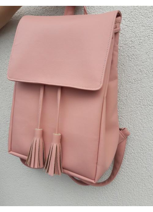 Жіночий рюкзак Sambag Loft BZO пудра