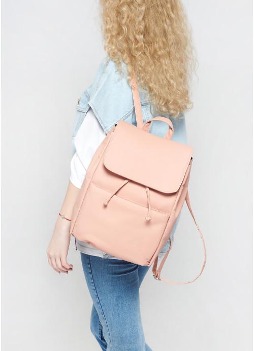 Жіночий рюкзак Sambag Loft BQN пудра