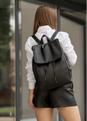 Жіночий рюкзак Sambag Loft LZN чорний