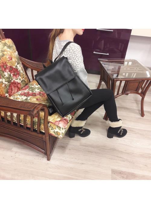 Жіночий рюкзак Sambag Loft LZN black