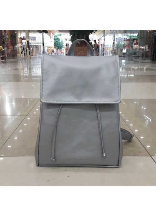 Жіночий рюкзак Sambag Loft LZN срібний