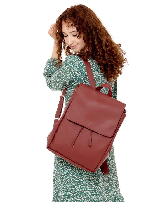 Жіночий рюкзак Sambag Loft LZN бордо