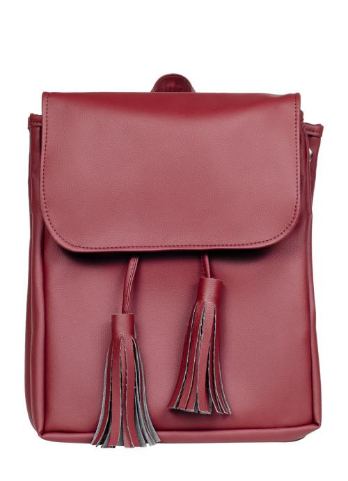 Жіночий рюкзак Sambag Loft LZNe бордо