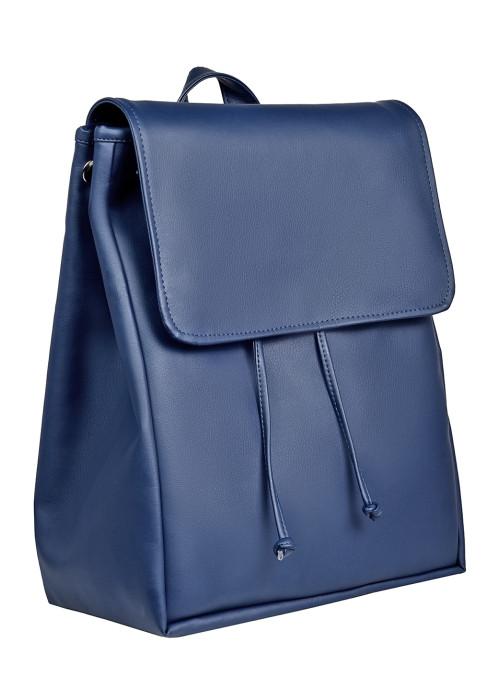 Жіночий рюкзак Sambag Loft LZN темно-синій