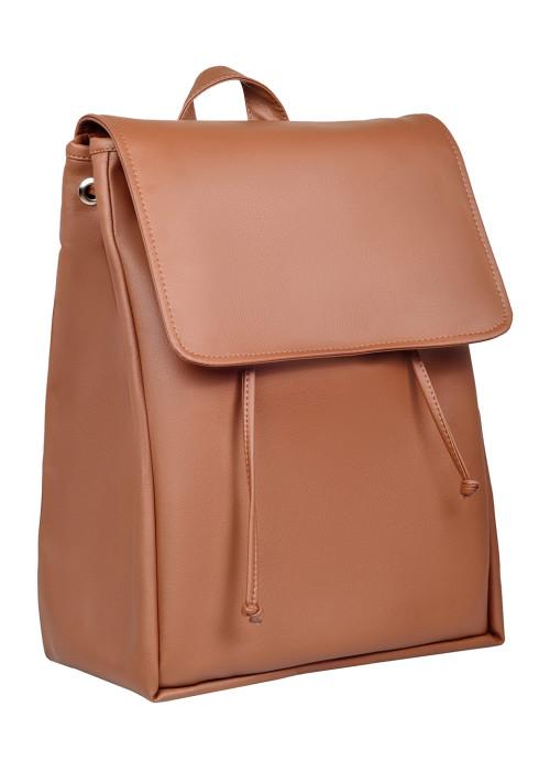 Жіночий рюкзак Sambag Loft LZN коричневий