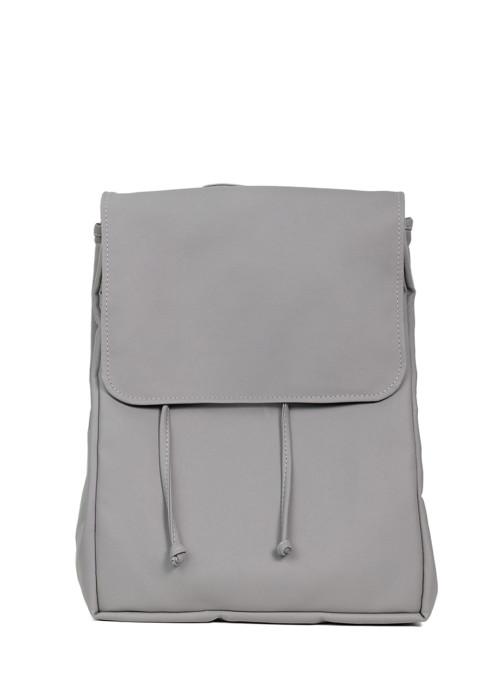 Жіночий рюкзак Sambag Loft LZN сірий