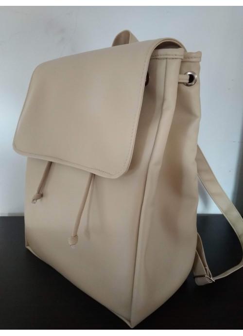 Жіночий рюкзак Sambag Loft LA бежевий