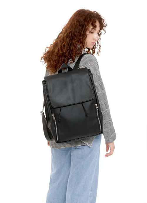 Жіночий рюкзак Sambag Loft LZS чорний
