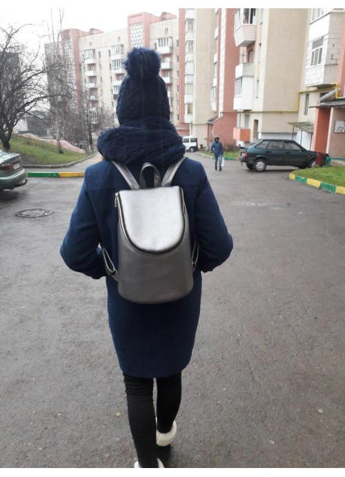 Жіночий рюкзак Sambag Berry LZG silver dark
