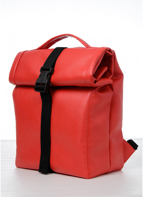 Рюкзак ролл Sambag RollTop QSN червоний