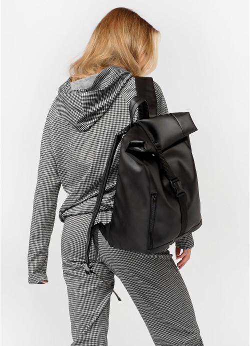 Жіночий рюкзак ролл Sambag RollTop LZT чорний