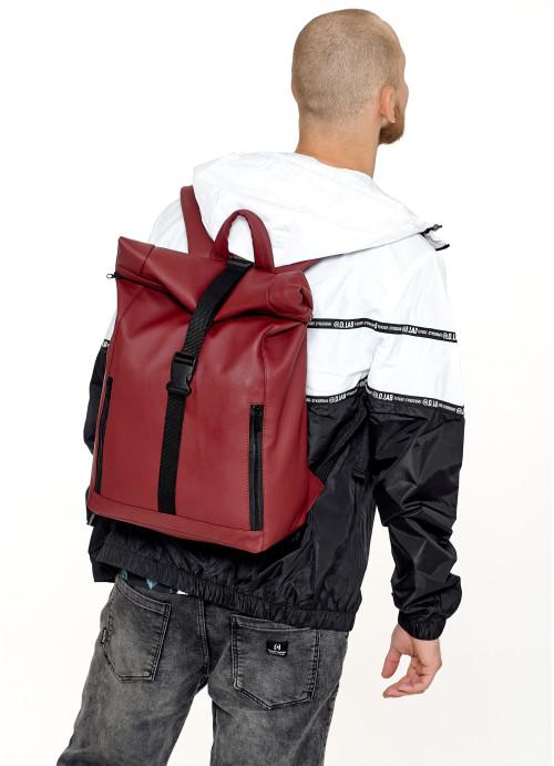 Чоловічий рюкзак ролл Sambag  RollTop LZT бордо