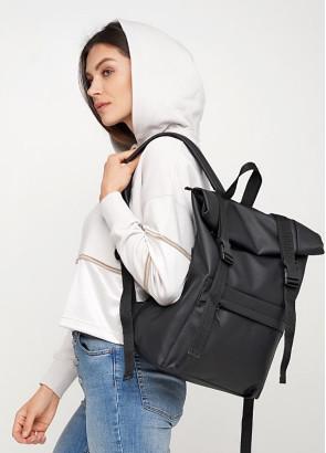 Рюкзак ролл Sambag унісекс RollTop LSH чорний