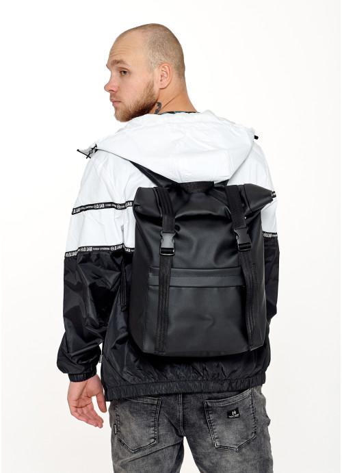 Чоловічий рюкзак ролл Sambag  RollTop LSHm чорний