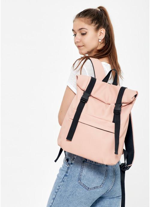 Жіночий рюкзак ролл Sambag RollTop LSH пудра