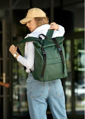 Рюкзак ролл Sambag унісекс RollTop LSH зелений