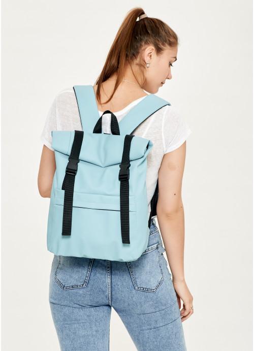 Жіночий рюкзак ролл Sambag RollTop LSH голубий
