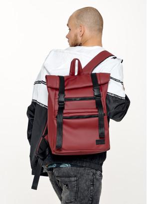 Чоловічий рюкзак ролл Sambag RollTop LTT бордо