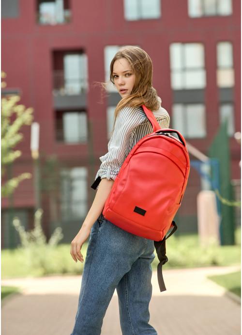 Жіночий рюкзак Sambag Zard LZN червоний