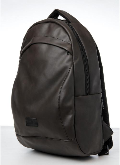 Рюкзак унісекс Sambag Zard LZN темно-коричневий нубук