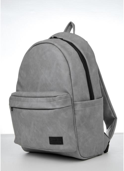 Рюкзак Sambag Zard LST світло-сірий нубук