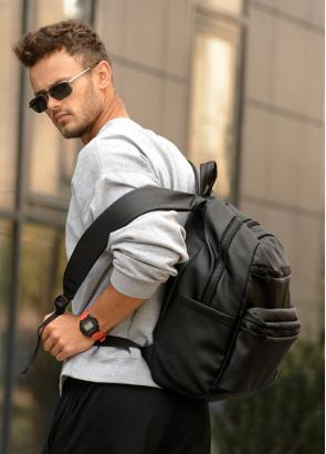 Чоловічий рюкзак  Sambag Zard LKT чорний