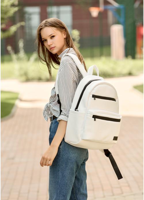 Рюкзак унісекс Sambag Zard LKT білий
