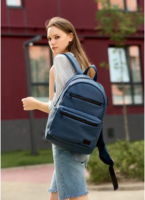 Жіночий рюкзак Sambag Zard LKT темно-синій
