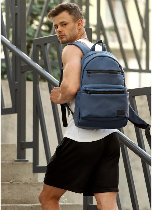 Чоловічий рюкзак Sambag Zard LKT темно-синій