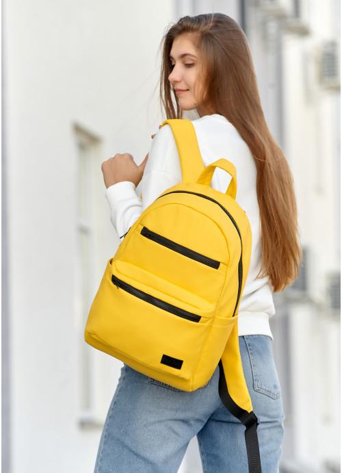 Рюкзак унісекс Sambag Zard LKT жовтий