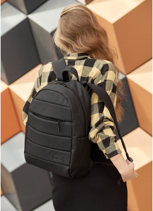Рюкзак унісекс Sambag Zard LRT чорний тканевий